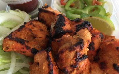Non- vegetarian Indian food platter at diamond palace, diamond bar