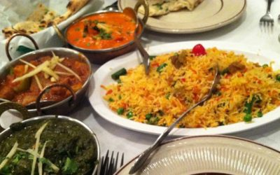 Multiple cuisine options in Indian menu at Diamond palace
